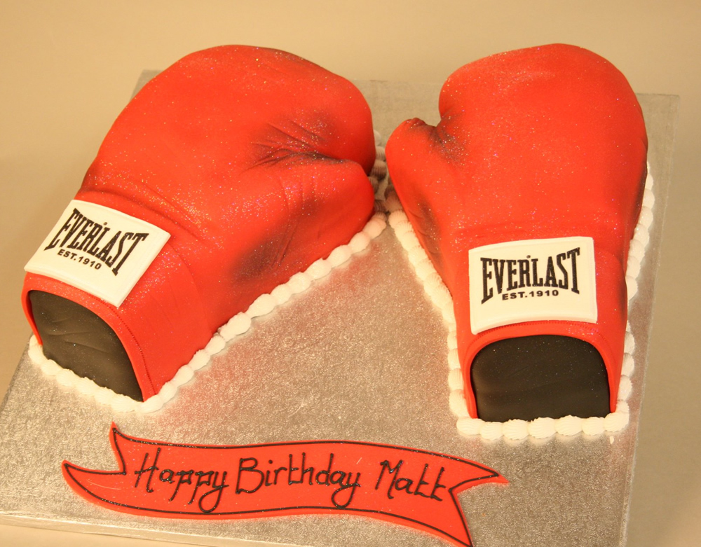 Boxing Glove Cake Pictures
